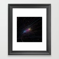 Approach Framed Art Print
