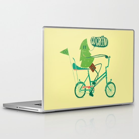 Go Green Laptop & iPad Skin