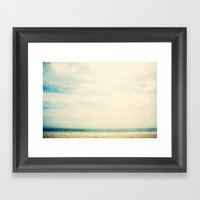 Sea birds Framed Art Print