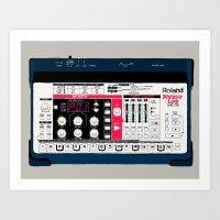 Roland Phrase Lab MC-09 Art Print