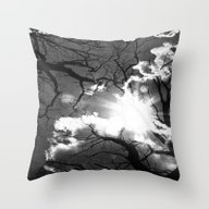Special Light In Autumn  Throw Pillow