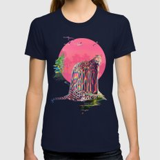 Jaguar Womens Fitted Tee Navy SMALL