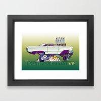 AFX Comet Framed Art Print
