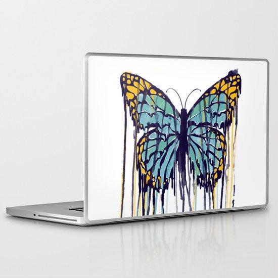 Melting Monarch (collab with Matheus Lopes) Laptop & iPad Skin