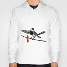 White Wagtail Hoody