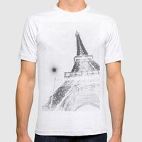 Eiffel Mens Fitted Tee Ash Grey SMALL