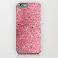 Pink Fuzzy Flower iPhone 6 Slim Case