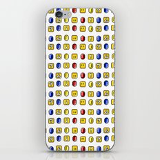 Coins, Boxes and Power ups, Oh my! iPhone & iPod Skin