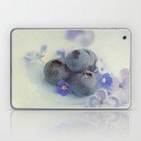 Blueberry Smile Laptop & iPad Skin