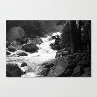 Whiteout Yosemite-1 Canvas Print