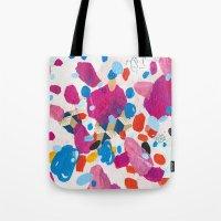 Fuchsia Physics Tote Bag