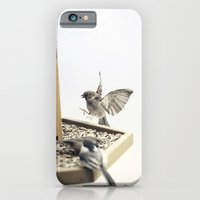 iPhone & iPod Case featuring Tom Feiler Sparrows by Tom Feiler