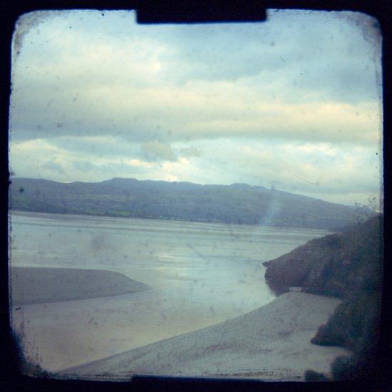 The beach - Wales, UK Art Print