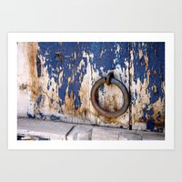 Entrance to an Old World Art Print