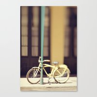 Yellow New Orleans Bicyc… Canvas Print