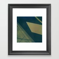 Street Abstraction Polar… Framed Art Print