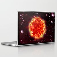 Laptop & iPad Skin featuring SUN - 054 by Lazy Bones Studios