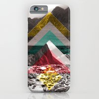 iPhone & iPod Case featuring Sojourn series - Fox Glacier  by Lina Belinda