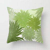 Feathered Throw Pillow
