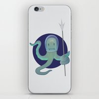 Lil Alien - Squiddy  iPhone & iPod Skin