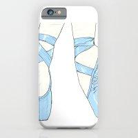Ballet Pumps: Blue iPhone 6 Slim Case