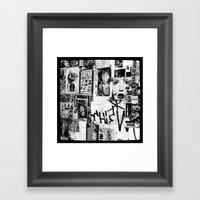 :: STREET ART //PART III… Framed Art Print