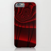 iPhone & iPod Case featuring Fractal Lashes by Christy Leigh