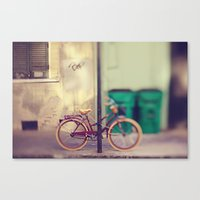 New Orleans Bicycle Canvas Print