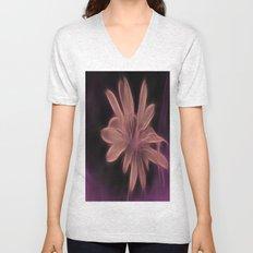 Psychedelic Flower Unisex V-Neck