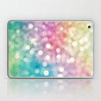 Rainbow Sparkles Laptop & iPad Skin