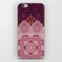 AZIZA RED  iPhone & iPod Skin