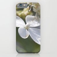 iPhone & iPod Case featuring 4 petal flower by redlinedesign®