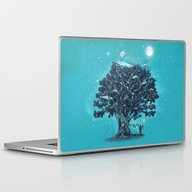 Deep Tree Diving  Laptop & iPad Skin