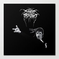 MIKETHRONE Canvas Print