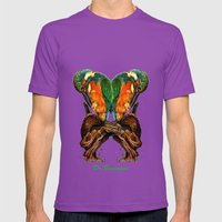 Drawing By Reeve Wong Mens Fitted Tee Ultraviolet SMALL