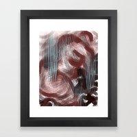 melting sex Framed Art Print