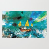 Come And Sail With Me Th… Rug