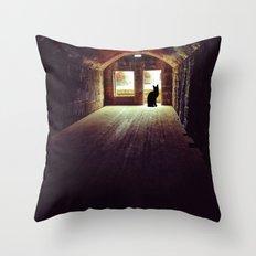 On Guard Throw Pillow