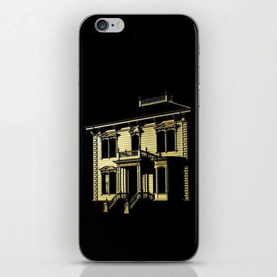 Alone at Full Moon iPhone & iPod Skin