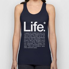 Life.* Available For A L… Unisex Tank Top