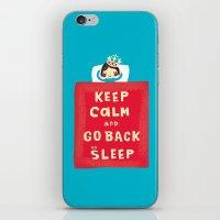 keep calm iPhone & iPod Skin