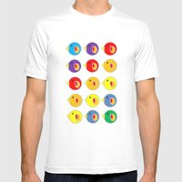 The Birds Mens Fitted Tee White SMALL