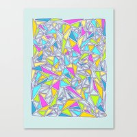 Abstract #001 Canvas Print