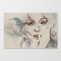 Poseidon's Lover Canvas Print