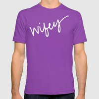 Wifey Mens Fitted Tee Ultraviolet SMALL