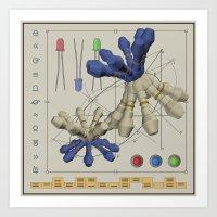 Dermatron Art Print