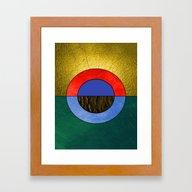 Abstract #114 Framed Art Print