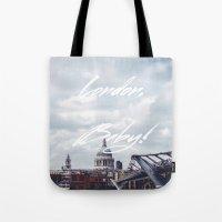 London, Baby! Tote Bag