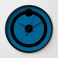 Dr, Manhattan Wall Clock