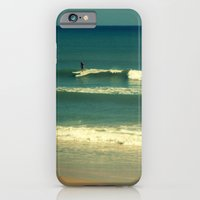 iPhone & iPod Case featuring The Surfer Guy by Susanne Van Hulst